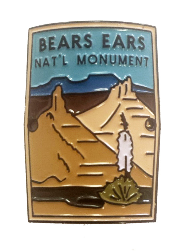Bears Ears National Monument Walking Stick Medallion