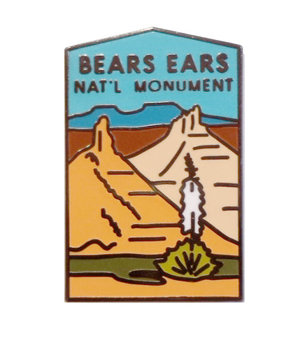 Bears Ears National Monument pin