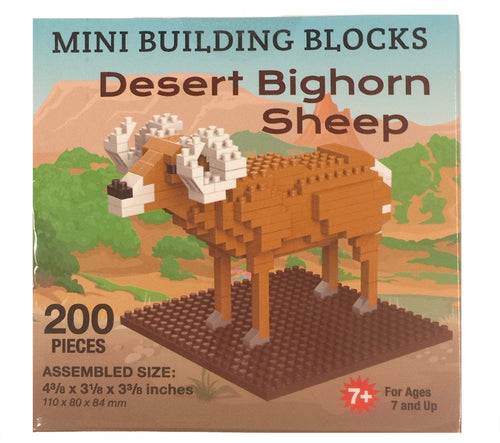 Bighorn Sheep Mini Building Blocks