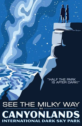 Canyonlands Dark Sky Poster