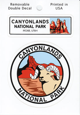 Canyonlands Double Sticker