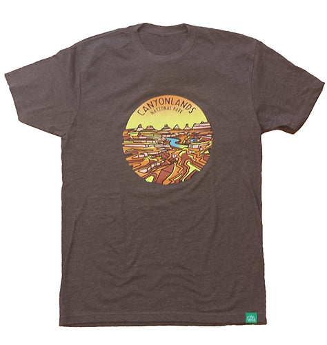 Canyonlands Geometric Design T-Shirt