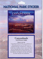 Canyonlands  Island in the Sky Sticker