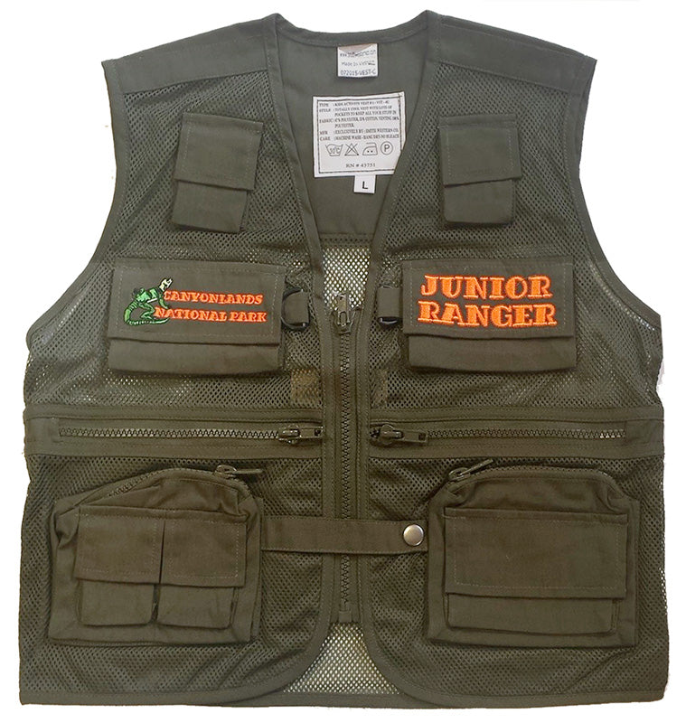 Canyonlands Junior Ranger Vest