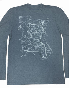 Canyonlands Map Long Sleeve T