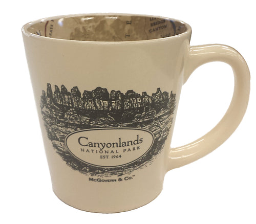 Canyonlands Map Mug