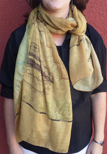 Canyonlands Map Scarf