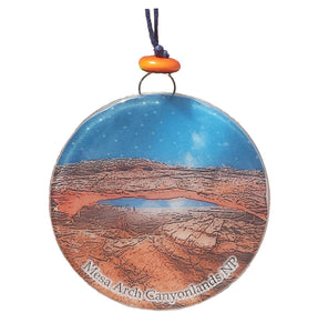 Canyonlands Mesa Arch Glass Ornament/Suncatcher