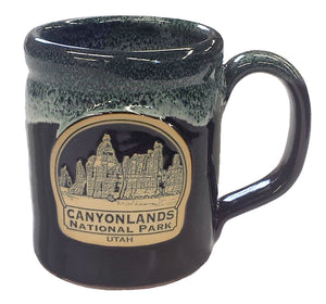Canyonlands Mug - Black/Hunter
