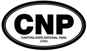Canyonlands National Park CNP Sticker