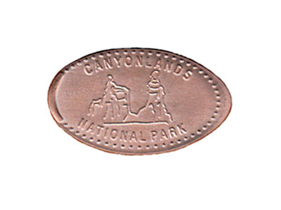 Canyonlands National Park Smashed Penny