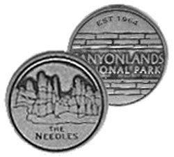 Canyonlands Token - Needles