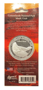 Canyonlands collectable coin