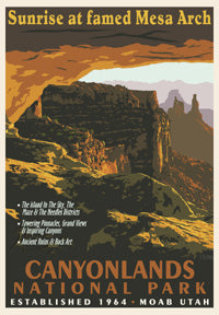 Canyonlands print - Retro Ranger Series