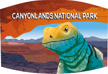 Load image into Gallery viewer, Canyonlands Collared Lizard Facebandoo™
