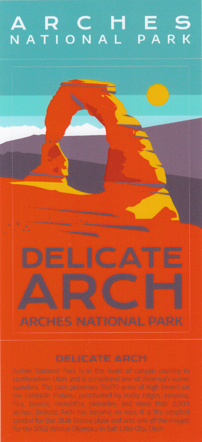 Delicate Arch Collectable Stickers