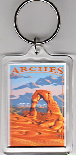 Delicate Arch Keychain