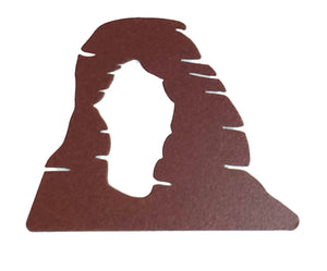 Delicate Arch Metal Magnet