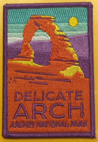 Delicate Arch Patch Magnet