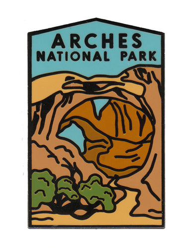 Double Arch Pin