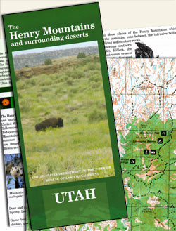 Henry Mountains Map & Guide