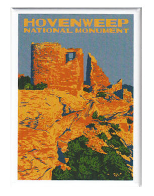 Hovenweep National Monument Magnet