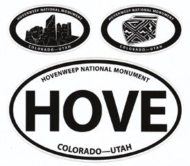 Hovenweep Vinyl Decal Set