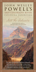 John Wesley Powell's 1869 Expedition Illustrated Map and Anthology