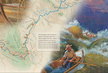 Load image into Gallery viewer, John Wesley Powell's 1869 Expedition Illustrated Map and Anthology