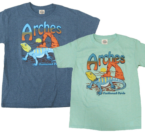 Kids Arches Collared Lizard T