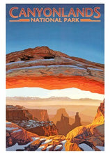 Load image into Gallery viewer, Mesa Arch Print 9 x 12