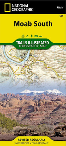 Moab South Outdoor Recreation Map