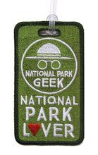 Load image into Gallery viewer, National Park Geek Luggage Tag