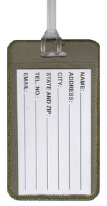 National Park Geek Luggage Tag