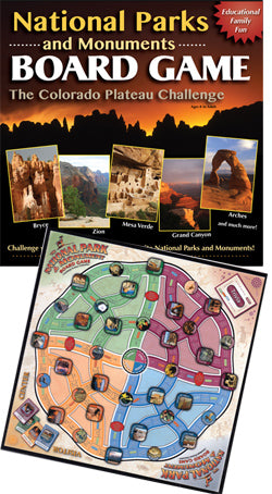 National Parks and Monuments Board Game - The Colorado Plateau Challenge