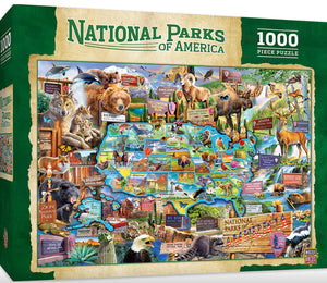National Parks of America Puzzle