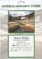 Natural Bridges National Monument Sticker