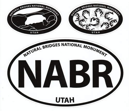 Natural Bridges National Monument Triple Sticker