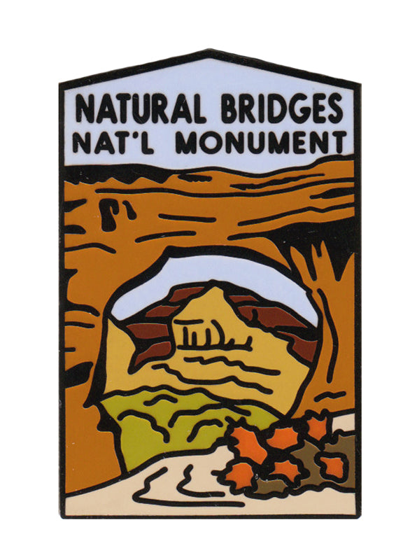 Natural Bridges National Monument pin