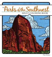 Load image into Gallery viewer, Parks of the Southwest Adult Coloring Book