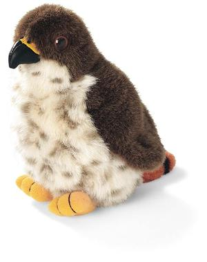 Red-tailed Hawk Plush with Real Bird Call