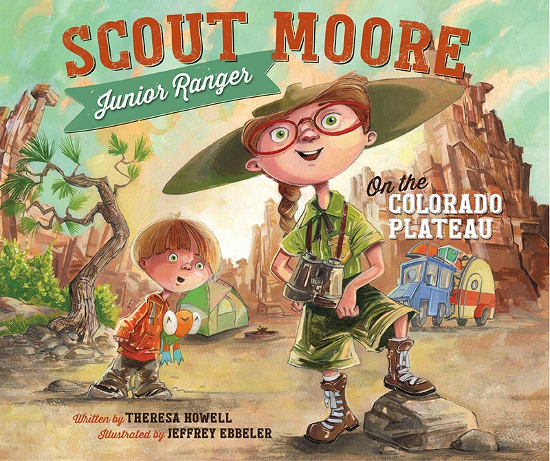 Scout Moore Junior Ranger on the Colorado Plateau