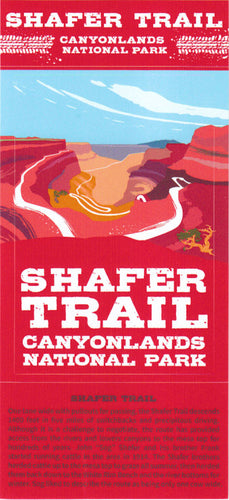 Shafer Trail - Canyonlands National Park Sticker