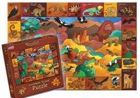 Southwest Animal Puzzle