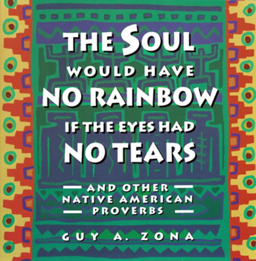 The Soul Would Have No Rainbows If The Eyes Had No Tears