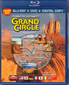 Touring the Southwest's Grand Circle - Blu-Ray + DVD + Digital Copy