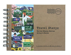 Travel Stamps United States Series Album & Guide