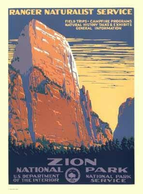 WPA Poster; Zion