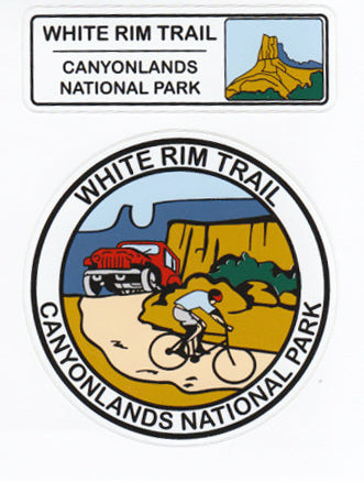 White Rim Trail sticker