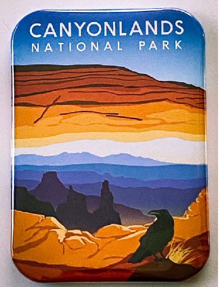 Mesa Arch Magnet